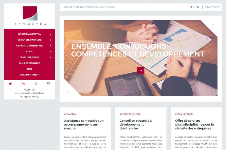 Acomptea agence eanet communication digitale - Cabinet audit et conseil ...