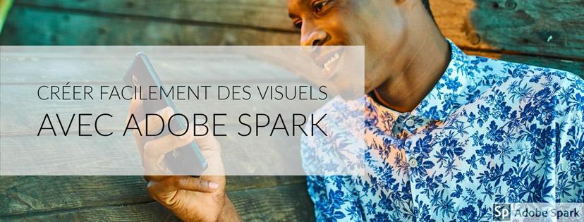 Photo de couverture Facebook réalisée avec Adobe Spark