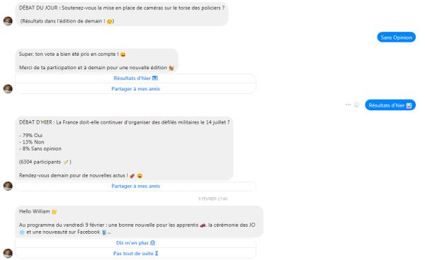 Hugo Décrypte chatbot