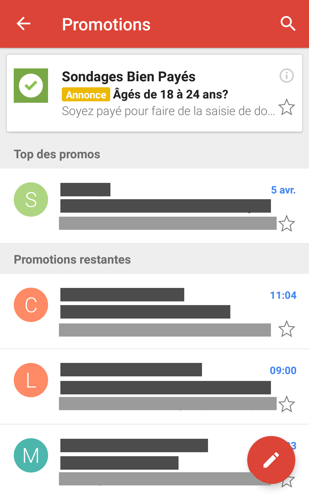 gmail remarketing audience similaire