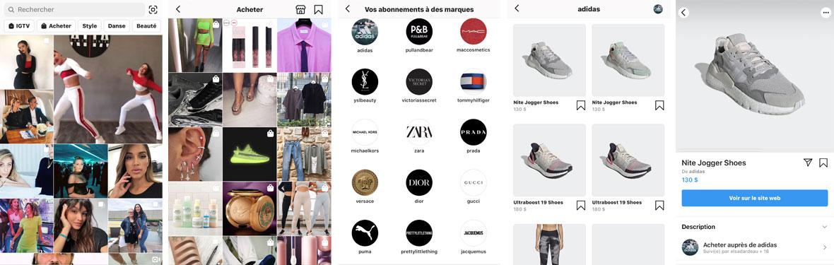 Instagram Shopping & m-commerce